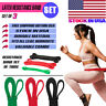 Heavy Duty Pull Up Exercise Resistance Bands For Body Stretching Fitness GYM SET