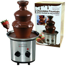 Chocolate Fountain Warmer Dessert Stainless Steel Electric Party Celebration