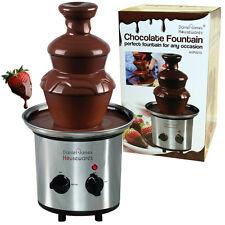 Fuente De Chocolate Calentador Eléctrico De Acero Inoxidable De Postre fiesta celebración