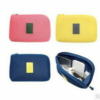 Travel Makeup Storage Bag Earphone Charger Bag Wallet Organizer Best Size Purse