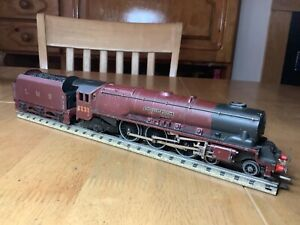 Hornby Dublo 3 Rail LMS 4-6-2 Duchess of Atholl Serviced and remaged