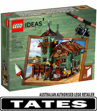 LEGO 21310 Old Fishing Store IDEAS Hard To Find from Tates Toyworld