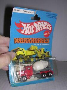 HOT WHEELS #1169  PeterbiltTri-Axle Cement Mixer Truck   Built-up  H.O. 1/87