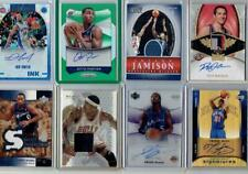 *13 BASKETBALL AUTOS GAME USED JERSEYS RELICS PATCHES CARD LOT*