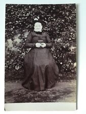 Vintage Postcard Photograph - Real Person -  Unknown Lady