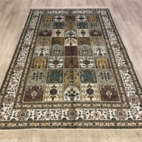 YILONG 5'x8' Prayer Handmade Silk Rugs Classic Hand Knotted Carpets Store 178AB
