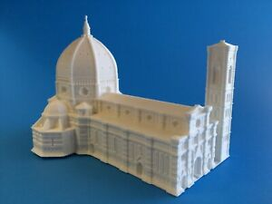 Florence Cathedral - Firenze FI, Italy - Scaled 100% Accurate Model Miniature