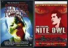 Sixteen Tongues (DVD) & Nite Owl (DVD) - 2 Sub Rosa Studios Horror & Suspense