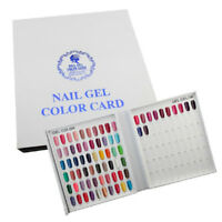 120/216/308 Nail Tip Colour Chart White Display Book UV/LED Gel Polish Design TS