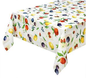 Tovaglia cucina antimacchia plastificata moderna tela cerata copri tavolo frutta