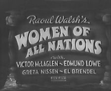 WOMEN OF ALL NATIONS (1931) DVD EDMUND LOWE, VICTOR MCLAGLEN