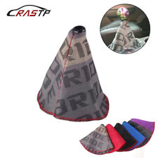 Racing Bride Hyper Fabric Shift Knob Shifter Boot Cover Mt/At Stitches for Honda