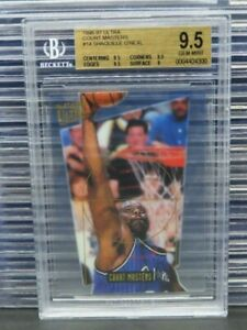 1996-97 Fleer Ultra Shaquille O'Neal Court Masters #14 Magic BGS 9.5 O591