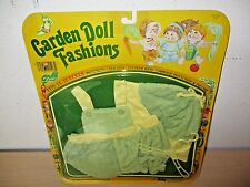 "1982 Garden Doll Fashions Outfit By Totsy. Fits 14-18"" Dolls. Sealed Nos."