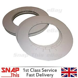 50 Professional Protective Heater Collars Hard Wax Paper Rings Pot Collar Salon