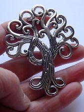 5 large tree of life pendant charm tibetan silver antique wholesale craft UK PL8