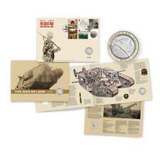 2016 LA GRANDE GUERRA 1914-1918 Esercito bunc £ 2 due Pound Coin COVER FAR rintracciare