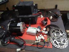 Electric bike motor 800W controller batteries brakes 36V go kart H20EMF22