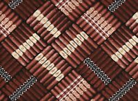 BTY Timeless Treasures CIGARS Print 100% Cotton Quilt Craft Fabric by the Yard