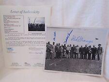 Grange, Hutson, Turner Multi Autographed 8x10 Black & White Photo– Full JSA LOA