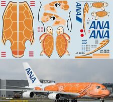 1/144 Airbus A380 ANA Airlines KA' LA'  JA383A Delivery Decals TB Decal TBD393