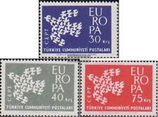 Turkey 1820-1822 FDC 1961 Europe