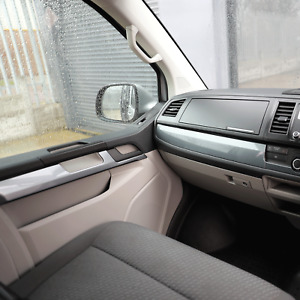 for VW Transporter T6 Lower Dash Styling Trims Gun Metal Grey Painted and Ready