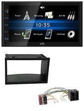 JVC 2DIN Bluetooth MP3 AUX USB Autoradio für VW Golf 4 Polo T4 Fox Passat ISO