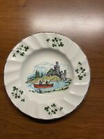 "VINTAGE Carrigaline pottery 5"" Trinket Dish, Cork, Ireland KNITTERS SWEATERS"