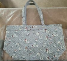 Vera Bradley Polar Bear Quilted Beary Merry Iconic Reversible Grand Tote