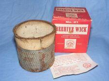 Valor Beehive Wick no 21 In Original Box