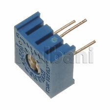 5pcs @$3 3386P-1-205LF Bourns Trimpot Cermet Trimmer POT 1 Turn .5W 2M Ohm