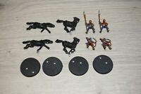 Warhammer LOTR - Lord Of The Rings Harad Haradrim Raider x 4 - Metal