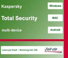 Kaspersky Total Security MD 2018 - 1 PC / Gerät - 1 Jahr -per Email - KEY