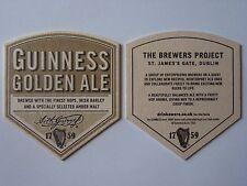 Guinness Golden Ale Beermat Coaster