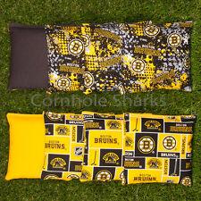 Cornhole Bean Bags Set of 8 Aca Regulation Bags Boston Bruins Free Ship!