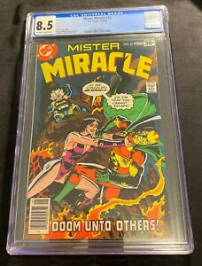 """DC Mister Miracle #25 """"Doom Unto Others!"""" 8-9/1978 Off-white/White pgs. CGC 9.4"""