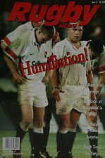 NZ RUGBY NEWS 29-15, 11 Jun 1998 Matt Cooper, Tonga, Frank Bunce