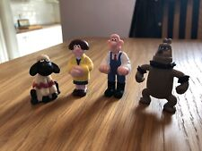 Wallace And Gromit A Close Shave Figurines