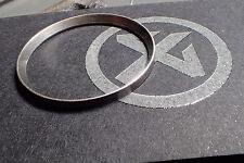 """VINTAGE """"ZIPPO"""" CUSTOM ST.STEEL CHAPTER RING W.PIN FOR SKX007 R-01-V"""