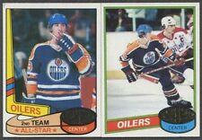 1980 81 Topps Set Unscratched 1-264 Ray Bourque Gartner Jim Craig Goulet Gretzky