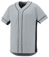 Augusta Sportswear Men's New Short Sleeve Baseball Slugger Jersey Shirt. 1660