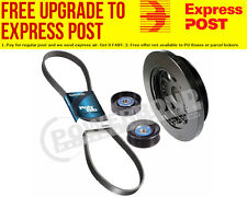 Powerbond Pulley Under Drive Kit Suit Ford Falcon BA-FG & XR6 Turbo 4.0L 6 Cyl 2