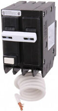 Ge Double Pole Ground Fault Circuit Breaker 240-Volt 50-Amp Gfci 2-Poles Plug-In
