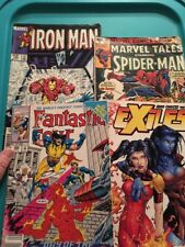 Marvel Comic Book Lot (4)