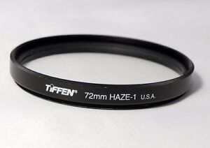 TIFFEN FILTER 72MM Haze-1 genuine USA used