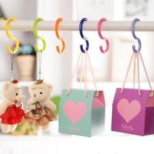 6Pcs/Set Bucket Hook S Shape Kitchen Hanger Clothes Hooks Clasp Holder QK