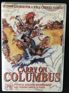 Carry on Columbus DVD All Region
