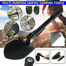 Survival Folding Shovel Outdoor Garden Camping Hiking Spade Camp Compass Pick