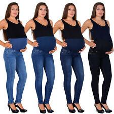 Damen Schwangerschaft Jeans Umstandshose Schwangerschaftshose Maternity J531